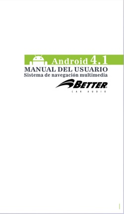 Manual Crv-Android 4.1-Spanish Version Roadrover
